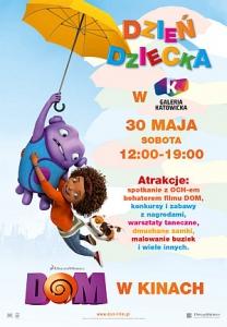 Filmowe PARTY z bohaterem animacji DOM w Katowicach