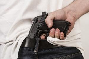 Mężczyzna z bronią wtargnął do przedszkola!