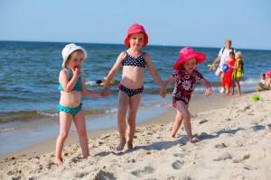 4 ważne powody, dla których warto jechać z dziećmi nad polskie morze