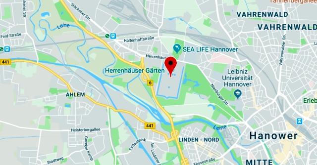 Herrenhauser Garten - jak dojechać