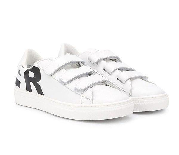białe sneakersy dla chłopca