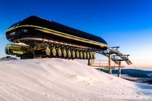 Czarna Góra - rodzinna stacja narciarska w masywie Śnieżnika