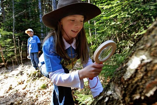 Dzieci w Parku Narodowym Harzu