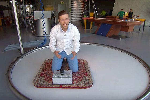 Latający dywan w Phaeno