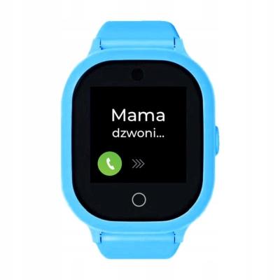 Zegarek GPS dla dziecka z aplikacją Bezpieczna Rodzina