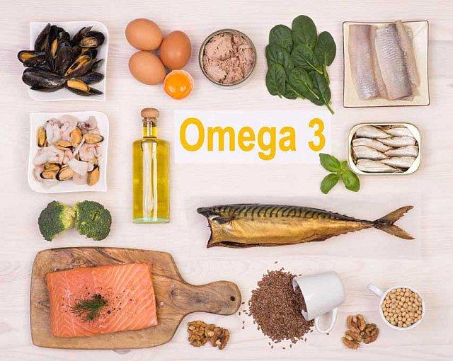 Kwasy omega, dieta, w czym znajdują się