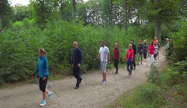 Nordic walking w Magrze