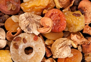 Suszone owoce - sposób na przeziębiania, zaparcia i inne dolegliwości