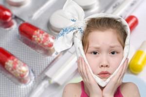 Świnka u dzieci (Nagminne zapalenie przyusznic)