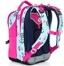 e29542e098210 Dobry plecak szkolny ma szerokie szelki, które można łatwo dopasować do  dziecka. Plecy w plecaku powinny być sztywne, wyprofilowane (jak siedzenia  w aucie).