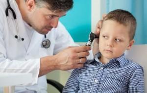 Zapalenie ucha u dzieci