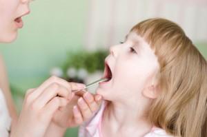Zapalenie migdałków u dzieci