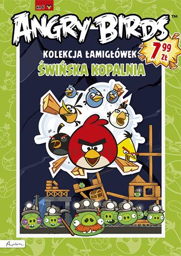 Angry Birds. Kolekcja łamigłówek. Świńska kopalnia 6
