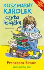 Koszmarny Karolek czyta książkę