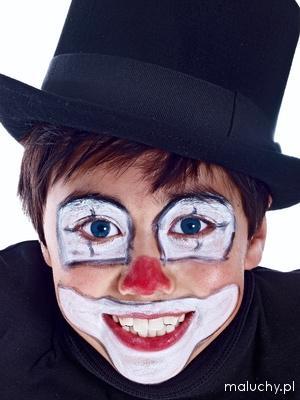 Malowanie Twarzy Wzory I Pomysły Clown Zdjęcia Galeria
