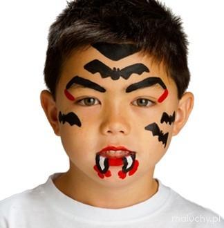 Malowanie twarzy - Halloween - wzory