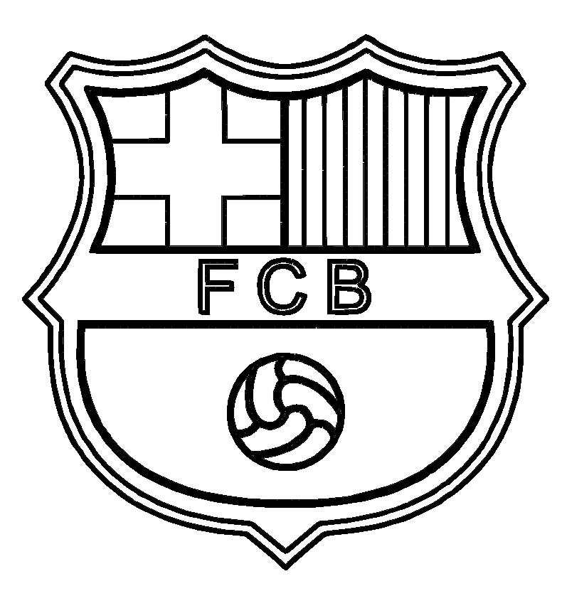 Kolorowanki Fc Barcelona Do Wydruku