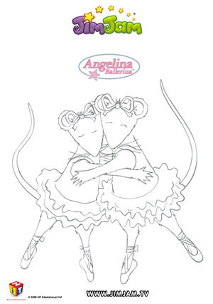 Roztańczona Angelina