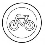 Droga dla rowerów - znak drogowy