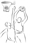 koszykarz - koszykówka