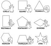 figury - kształty po angielsku