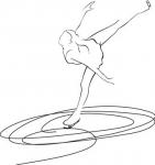 Łyżwiarstwo figurowe - łyżwiarka