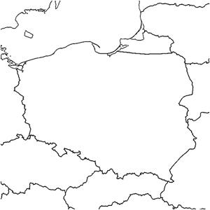 Kolorowanka Mapa Polski Maluchypl