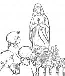 Nabożeństwo majowe - Maryja i dzieci
