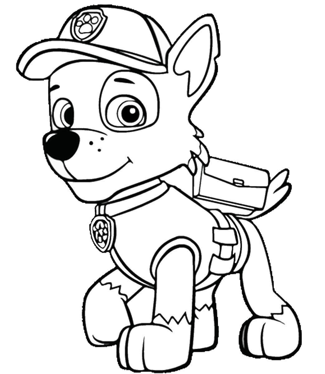 Kolorowanka Psi Patrol Maluchy Pl
