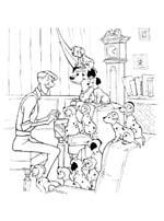Dalmatyńczyki przy pianinie