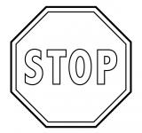 Stop - znak drogowy