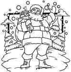 Św. Mikołaj z prezentami
