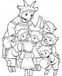 O wilku i siedmiu koźlętach
