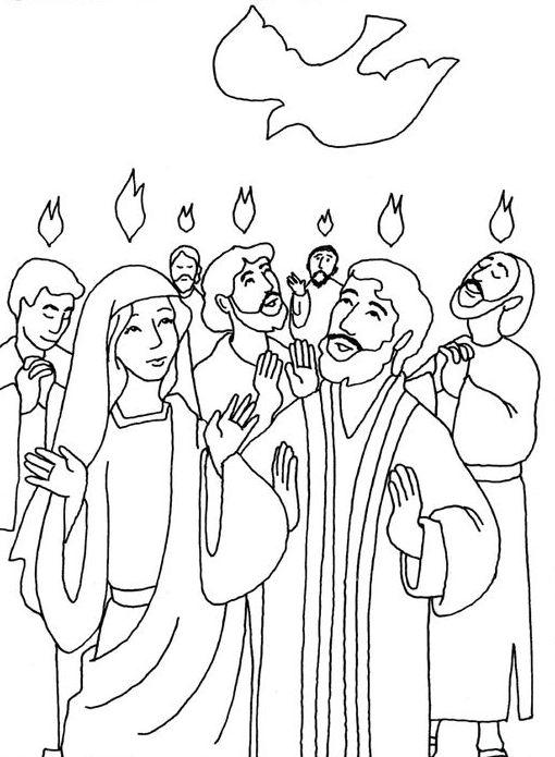Zielone Świątki - Zesłanie Ducha Świętego