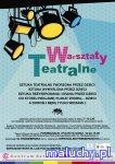 Warsztaty teatralne Mały-Wielki Teatr - Warszawa - zajęcia dla dzieci
