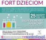 Eksperymenty Naukowe - Warsztaty kreatywne dla dzieci  - Warszawa - zajęcia dla dzieci