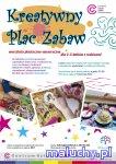 KREATYWNY PLAC ZABAW warsztaty plastyczno-sensoryczne dla 2-3-latków z rodzicami  - Warszawa - zajęcia dla dzieci