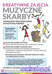Muzyczne Skarby – zajęcia muzyczno-teatralne dla dzieci - Warszawa - zajęcia dla dzieci