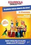Bezpłatne lekcje tańca dla dzieci w Egurrola Dance Studio - Warszawa - zajęcia dla dzieci