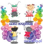 Małe sprężynki - ruch i taniec dla maluchów - Kraków - zajęcia dla dzieci