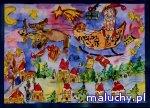 Magiczny czar świątecznych kartek - Wrocław - zajęcia dla dzieci