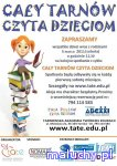 Cały Tarnów czyta dzieciom kolejne spotkanie - Tarnów - zajęcia dla dzieci