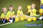 Piłkarskie maluszki – zdrowo, na sportowo. Warsztat dla rodziców i dzieci w wieku 1-3. - Bydgoszcz - zajęcia dla dzieci