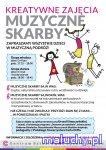 Kreatywne Zajęcia dla dzieci - Muzyczne Skarby - Warszawa - zajęcia dla dzieci