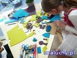 Magnesy – opowieść na drzwiach lodówki -  Warsztaty plastyczne dla dzieci  - Warszawa - zajęcia dla dzieci