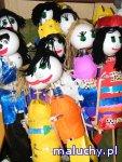 Budowa lalki teatralnej -  Warsztaty plastyczne dla dzieci z teatrem lalek Igraszka  - Warszawa - zajęcia dla dzieci