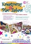 KREATYWNY PLAC ZABAW warsztaty plastyczno-sensoryczne dla 2-3-latk�w z rodzicami  - Warszawa - zaj�cia dla dzieci