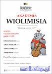 """Akademia WioliMisia """"Na dwa, czy na trzy?"""" - Bydgoszcz -"""