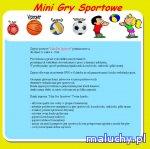 Mini Gry Sportowe (www.mini-sport.pl) - Gdańsk - zajęcia dla dzieci
