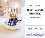 Malowanie bombek - Warszawa - zajęcia dla dzieci